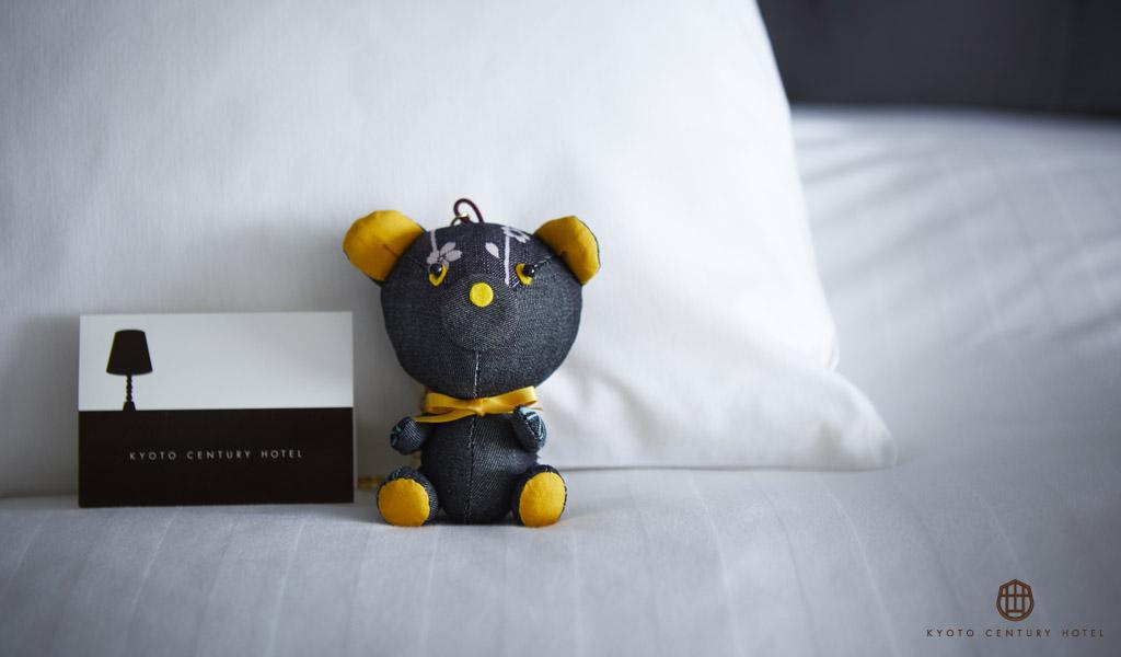 京都センチュリーホテル×京都デニムコラボ商品「センチュリーベア」